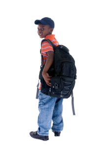 Backpack boy