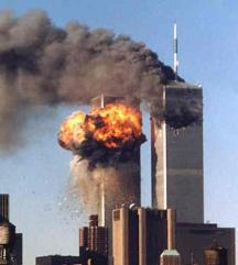 911 Twin Towers Fire