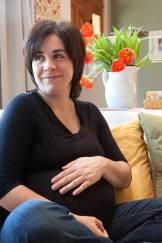 Keri pregnant third trimester